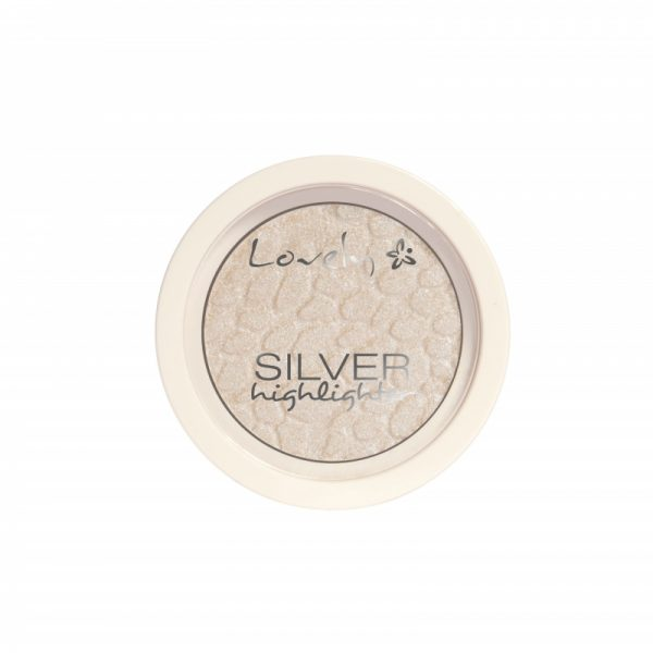 Pudră de față iluminatoare Lovely Highlighter Silver