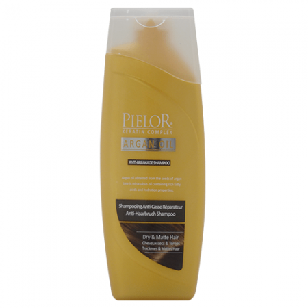 Șampon anti-rupere Pielor Argan oil, 400 ml