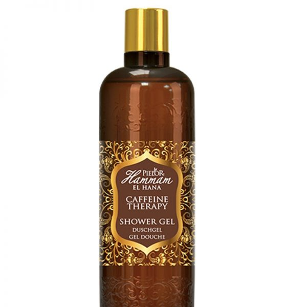 Gel de duș Pielor Hammam El Hana Caffeine Therapy, 400 ml