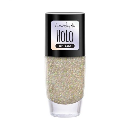 Ojă Lovely Top Coat Holo, 8 ml