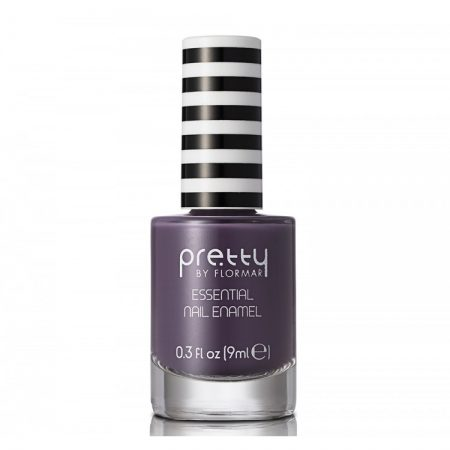Lac de unghii Pretty by Flormar Essential Smoky Violet 022