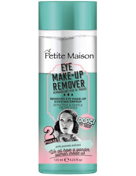 Demachiant Petite Maison eye make up remover, 125 ml