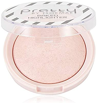 Iluminator Pretty by Flormar Baked Highlighter Pinky 20 , 7.5 g