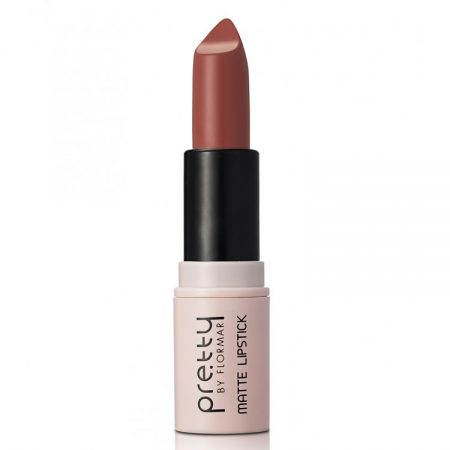 Ruj Pretty by Flormar Matte Dark Nude 05